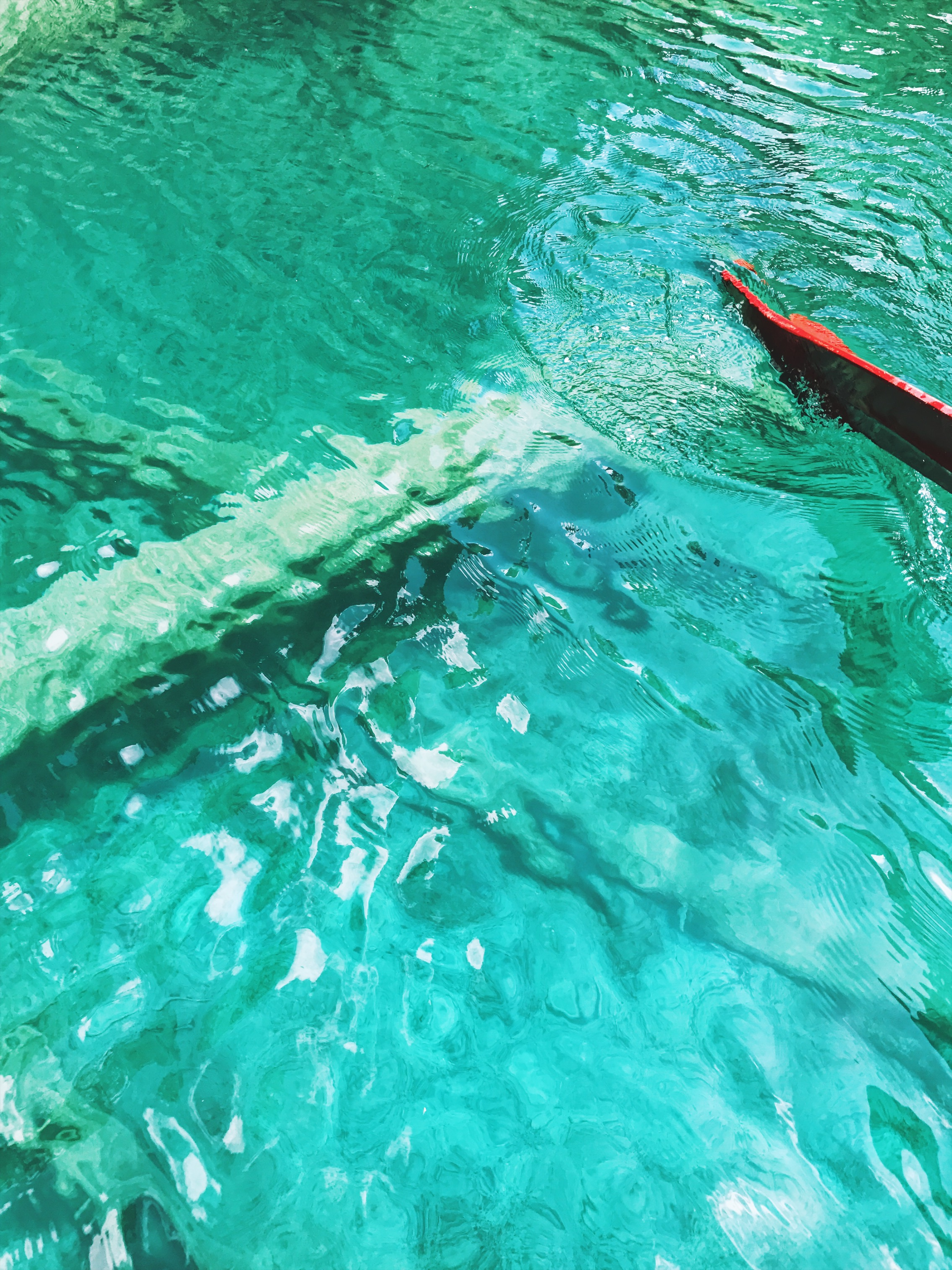 Color of the water, Blausee, Switzerland